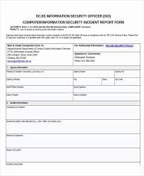 Security Incident Report Form Best Of Best One Cyber Security Roles