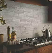 idea gray slate tile create a modern kitchen look