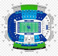 Commonwealth Stadium Seating Chart Uf Football Student Tickets Kentucky Football Kroger Field