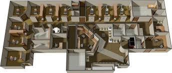 dental office floor plan. Remodel Plan 3D Dental Office Floor 1