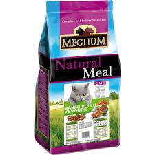 Сухой корм <b>MEGLIUM</b> Natural Meal <b>Cat Adult</b> Chicken, Beef ...