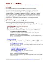 Resume Traditional Resume Example