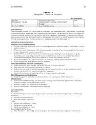ENTERPRISE 29 Appendix A Management Trainee ...