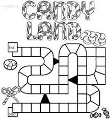 Small Picture Candyland Character Page Coloring Sheets Candyland Coloring