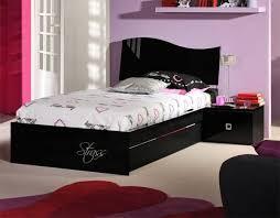 Impressive Black Bedroom Furniture For Girls Lovely Designs Extravagant Color Beautiful Ideas