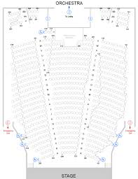 Opac Seating Chart Seating Charts Oxford Performing Arts Center