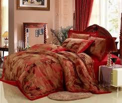 luxury king size duvet covers sweetgalas amazing red and gold