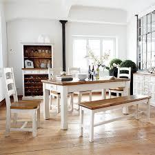 Esstisch Bodde 180 X 90 Cm In Kiefer Massivholz Weiß Honig