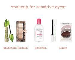 make up for sensitive eyes bioderma physicans formula almay