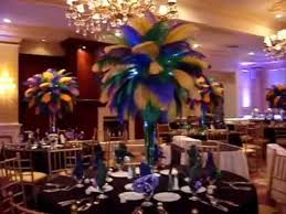 Mardi Gras Ball Decorations New Mardi Gras Themed Ostrich Feather Centerpieces Rentals At The Inn At