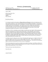 Examples Of Effective Cover Letters Cover Letter Examples Successful ...