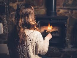 Der Gussofen Spendet Wohlige Wärme Heizungde