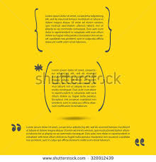 Brackets In Quotes Magnificent Handwritten Brackets Quotes Template Vector Set Stock Vector