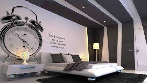 charming bedroom furniture design with wood wall cover along captivating decorating ideas unique silver alarm walls charming bedroom ideas black white