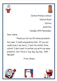 James Father Christmas letters