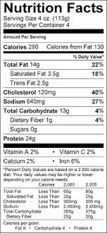 cereal box nutrition facts. Delighful Nutrition In Cereal Box Nutrition Facts O