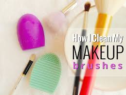 how i clean my makeup brushes brushegg mac brush cleanser you