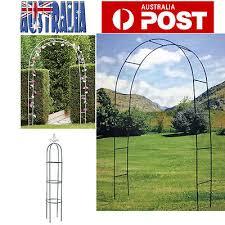 details about garden arch wedding arch verandah gate outdoor decor plant climbing stand oz