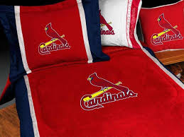 st louis cardinals bedding sets sideline comforter