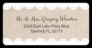 Free Address Labels Samples Custom Wedding Label Templates Download Wedding Label Designs