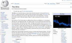 wikipedia article template setting up infobox templates in mediawiki