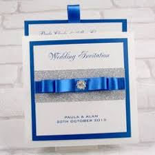 stunning diy royal blue & silver glitter wedding by invitebling White And Blue Wedding Invitations luxury premium pocketfold invitations from our 'twinkle twinkle' range of stationery and accessories royal blue and white wedding invitations