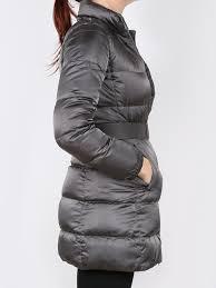 prada grey winter coat 36