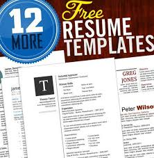 Unique Resume Templates Free Word Resume Sample