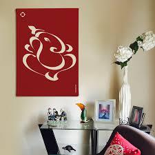 fancy design ganesh wall art canvas india uk metal wood vinyl ganesha