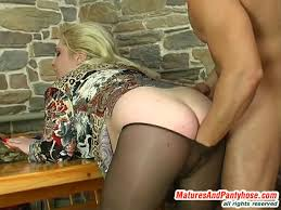 Sibylla nicholas mature pantyhose action