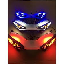 Đèn Led Audi Giả Mắt Cú Cho Exciter 150