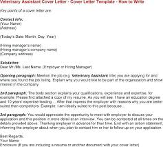 Ideas Of Cover Letter For Veterinarian Veterinary Assistant Resume