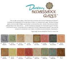 Seattle Pottery Supply E Catalog G Duncan Renaissance Glazes