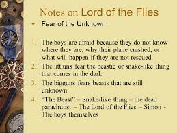 notes on lord of the flies ppt video online notes on lord of the flies