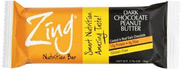 smartbody nutrition zing bar 12 box dark chocolate peanut er 22 95