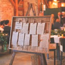 Aster Rustic Wooden Seating Chart