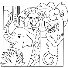 Animals Coloring Pages For Preschoolers Ourwayofpassioncom