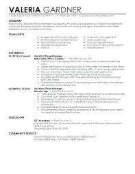 Best Sample Of Resume Sample Resume For Retail Assistant Best Retail