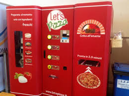 Lets Pizza Vending Machine Magnificent You Don't Just Walk Past A Pizza Vending Machine In Rome And Not