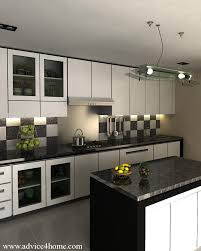 Black And White Kitchen Kitchen Paint Colors With White Cabinets Kitchens  With Stainless Steel Appliances And