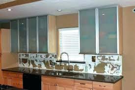 ikea kitchen wall cabinets glass doors