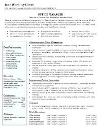 Resume Samples Office Manager Office Manager Resume Sample Office