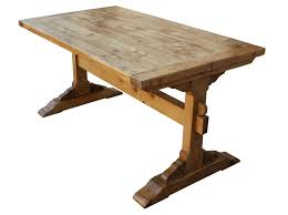 ... dining room table, Lovely Trestle Dining Tables In Room Sets Elegant  Solid Wood Trestle Dining ...