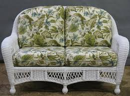 St Lucia Outdoor Wicker Loveseat All About Wicker