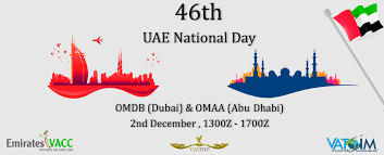 Omaa Charts Vatame Hq 46th Uae National Day