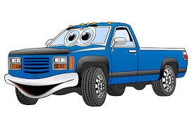 Free Cartoon Pickup Truck, Download Free Clip Art, Free Clip Art on ...