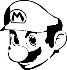 Super Mario Dessins Pinterest Pochoir Mario Et Cam O