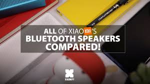 ALL <b>Xiaomi Bluetooth Speakers</b> Compared! [Xiaomify] - YouTube