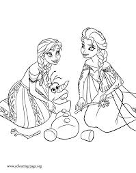 Small Picture 149 best frozen coloring pictures images on Pinterest Adult