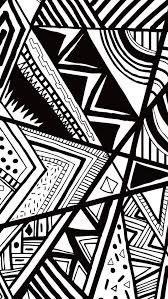 black and white doodle iphone 5s wallpaper